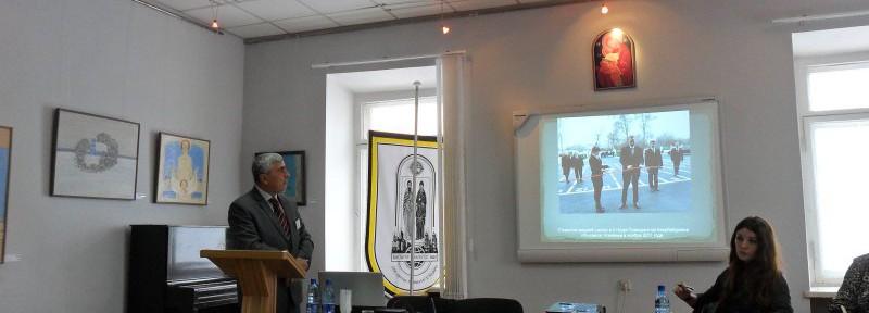 Доклад  Роберта Мобили на международной  научно-практической  конференции «Человек и Религия».  Минск.  14-16 марта 2013 г.  на тему: Удинский феномен в истории христианства, как модель толерантности в Азербайджане.