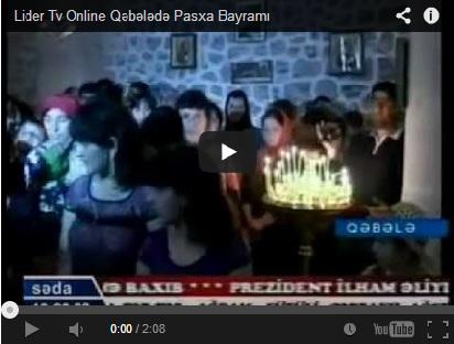 Qəbələdə Pasxa Bayramı (Lider Tv)