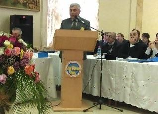 Доклад Роберта Мобили на конференции «1700-летие принятия христианства в Дербенте как государственной религии Кавказской Албании»