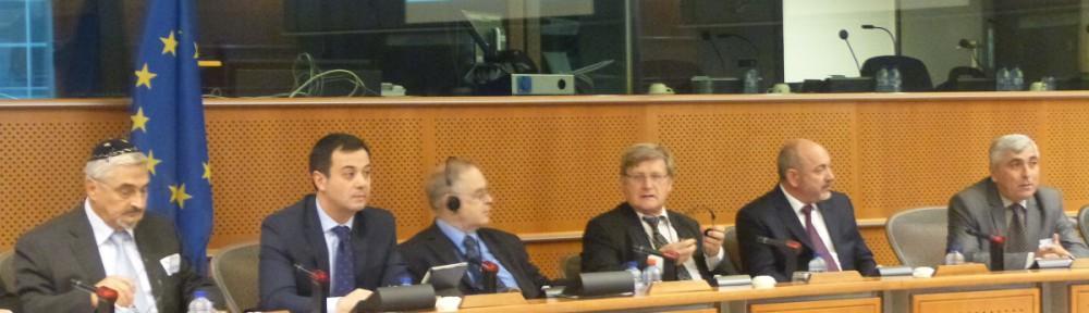 В Брюсселе состоялась презентация отчета о положении немусульманских религиозных общин в Азербайджане.