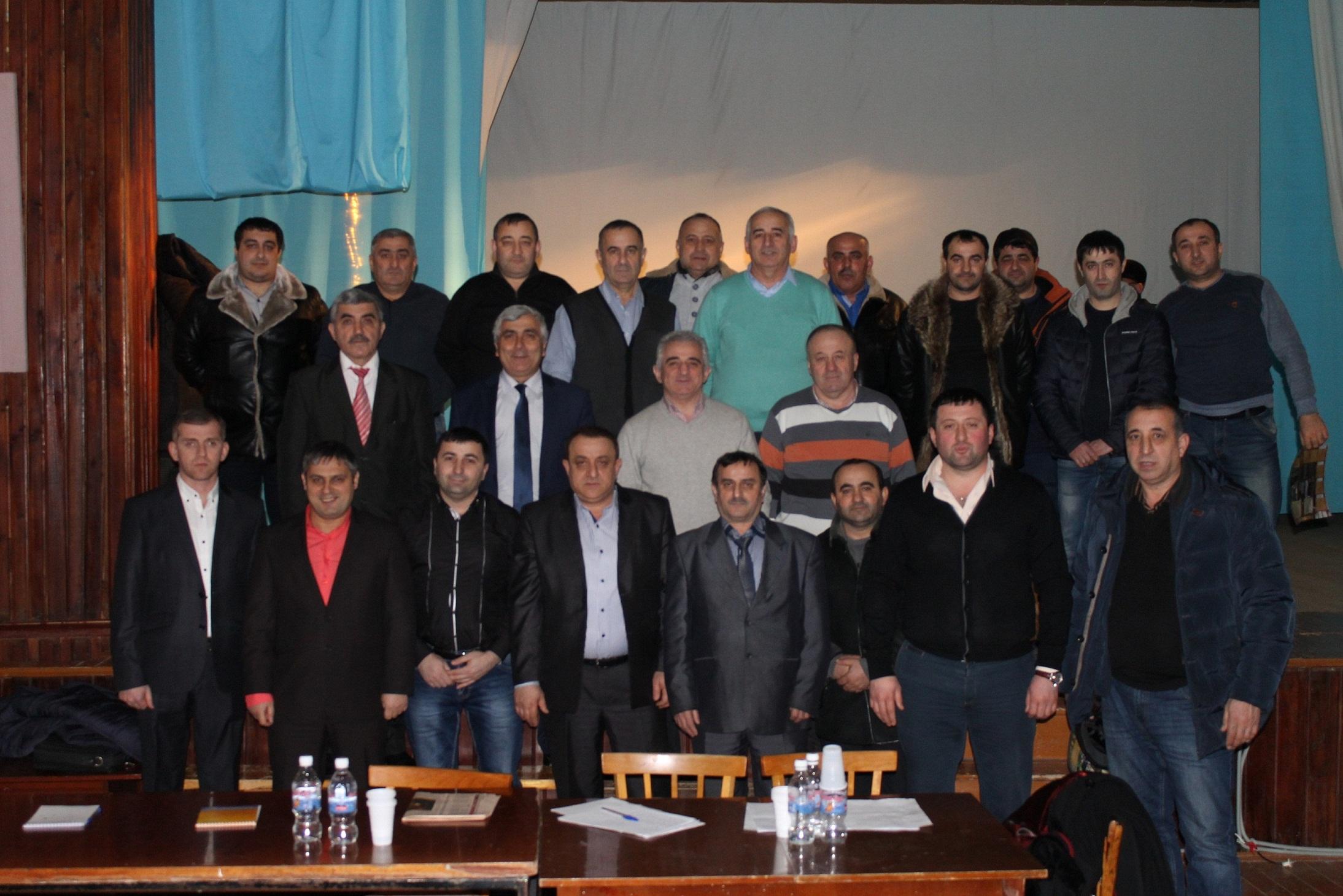 В Шахтах прошло Общее собрание руководителей и активистов удинских общин России и стран СНГ