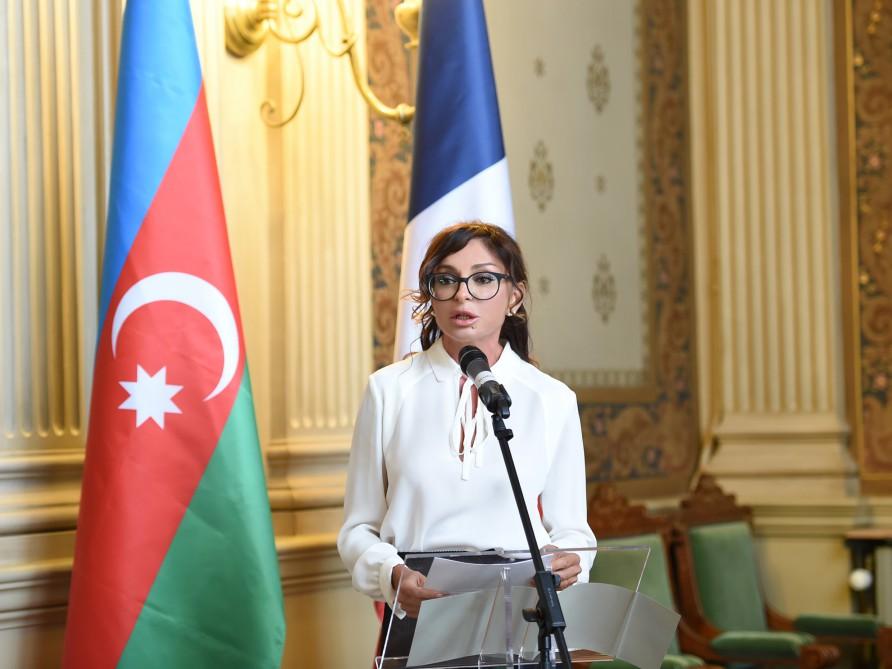 Мехрибан Алиева приняла участие в конференции «Религиозная толерантность: Культура совместного проживания в Азербайджане» в Париже