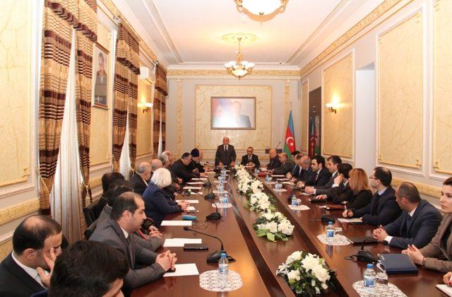 Dövlət Komitəsində 20 Yanvar — Ümumxalq Hüzn Gününə həsr edilmiş tədbir keçirilib