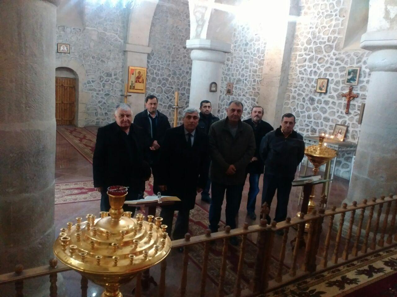 Удинская христианская паства почтила память жертв 20 ЯНВАРЯ.