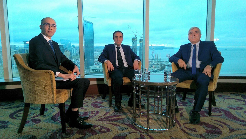 Эфир телеканала CBC от 24 февраля 2018г. Дисскусия на тему: Албанские храмы – историческое наследие Азербайджана.
