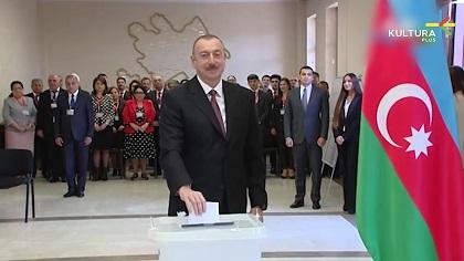Руководители религиозных конфессий поздравили президента Ильхама Алиева с победой на выборах