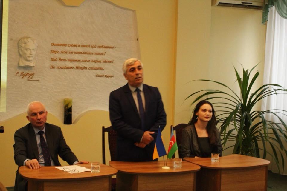 В Киеве состоялась встреча с удинской общиной Азербайджана