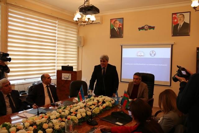 29 марта 2019 года Бакинский филиал МИМРД МПА СНГ провел в Бакинском Славянском Университете мероприятие на тему «Азербайджан – центр мультикультурализма и толерантности».