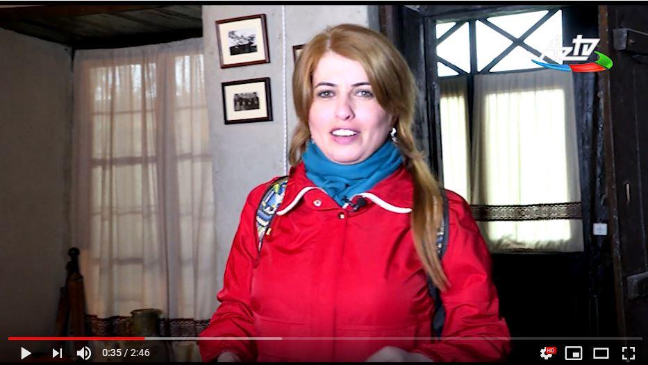 """Наши гости в эти выходные. AzTV с Гюнель Фейзуллаевой. Анонс передачи """"Путешествие с Гюнель"""". Нидж, 30-31 марта 2019г."""