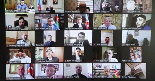 QMİ-də din xadimləri ilə videokonfrans formatında görüş keçirilib
