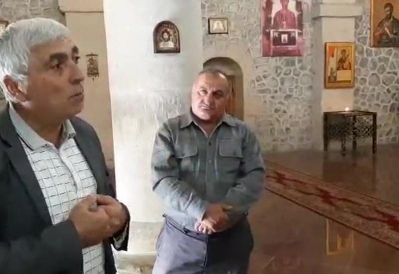 Qarabağın alban kilsələrini Eçmiədzin işğalçılarından azad edəcəyik! — Xristianlar Nic kəndində dua edir