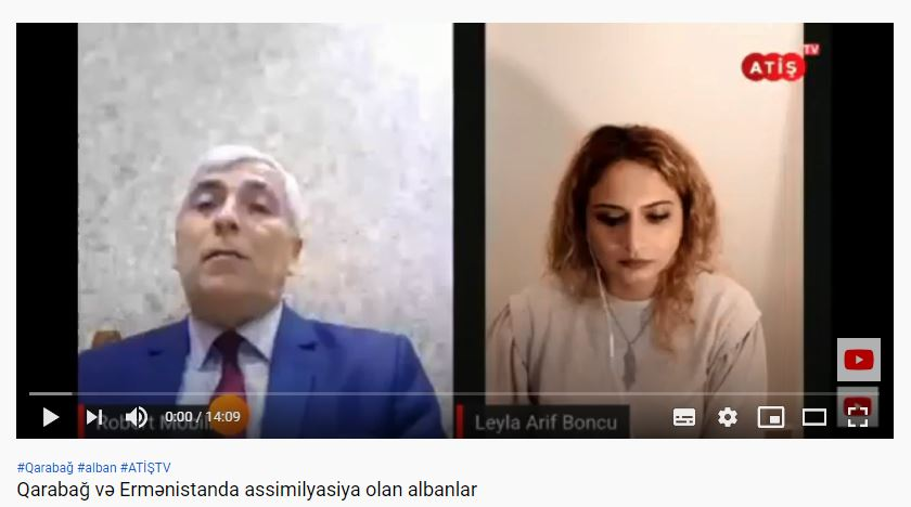 Qarabağ və Ermənistanda assimilyasiya olan albanlar. ATİŞ TV.