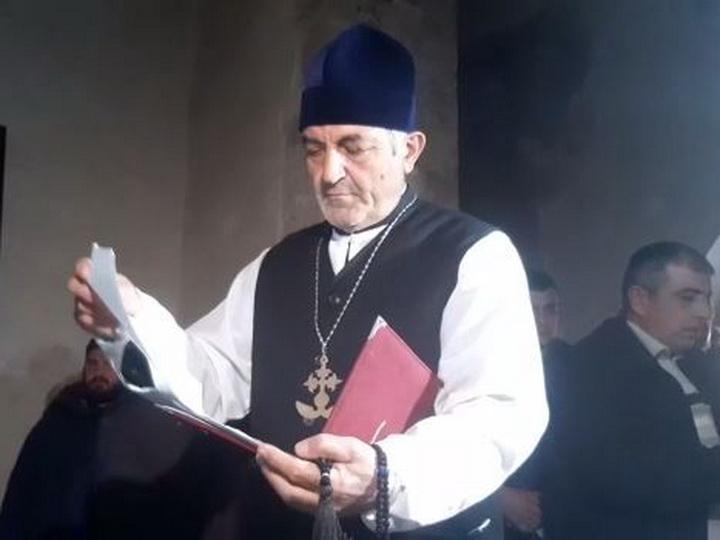 В храме Худавенг состоялся рождественский молебен албано-удинской общины Азербайджана