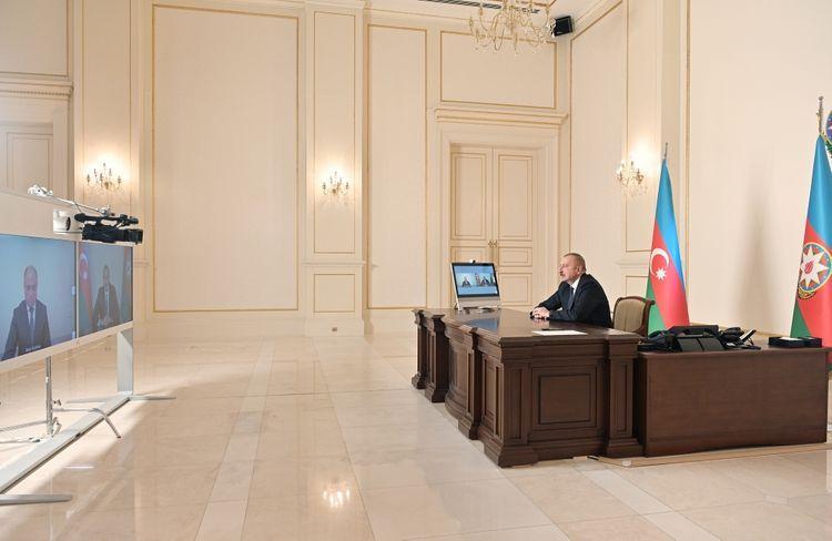 Освобожденная от оккупации церковь Худавенг уже возвращена истинным хозяевам, нашим удинским братьям. Президент Ильхам Алиев