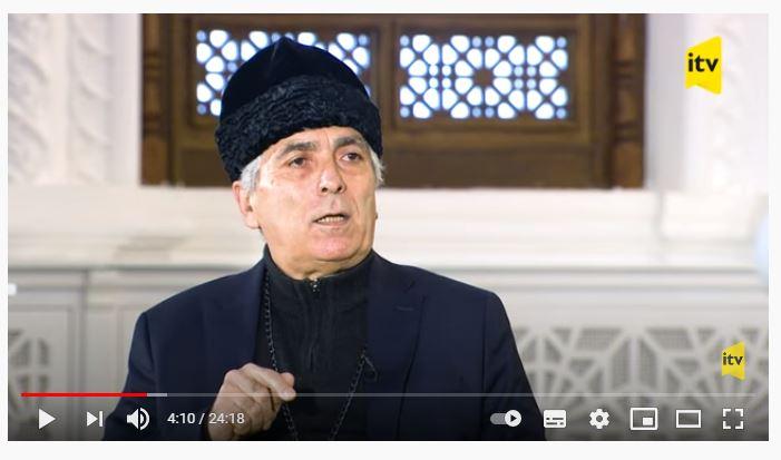 «Din və cəmiyyət» verilişi — 12.02.2021 Mövzu:  «ALBAN DİNİ İRSİ» Qonaq: Alban-udi xristian dini icmasının sədri  Robert Mobili